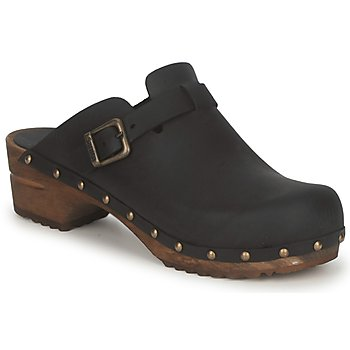 Shoes Women Clogs Sanita KRISTEL OPEN Black