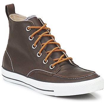 Shoes Men Mid boots Converse CLASSIC BOOTS HI Brown
