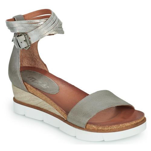 Shoes Women Sandals Mjus TAPASITA Grey / Silver