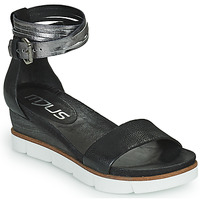 Shoes Women Sandals Mjus TAPASITA Black / Silver