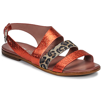 Shoes Women Sandals Mjus CHAT BUCKLE Red / Leopard