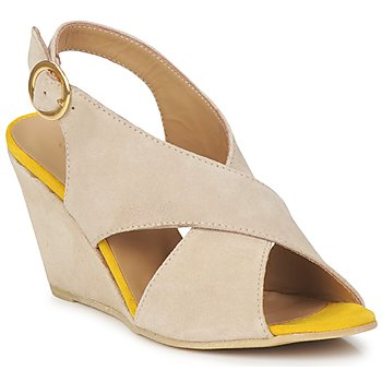 Shoes Women Sandals Pieces OTTINE SHOP SANDAL Taupe