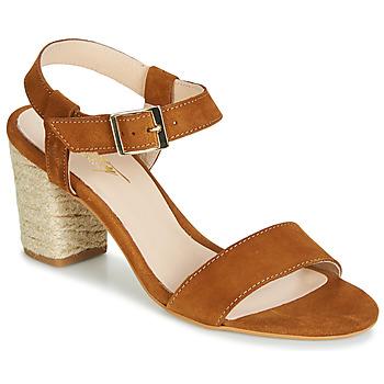 Shoes Women Sandals Betty London JIKOTIFE Camel