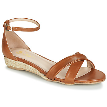 Shoes Women Sandals Betty London JIKOTIVE Camel