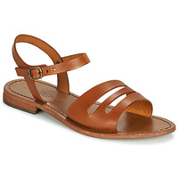 Shoes Women Sandals Dream in Green JAKALETTE Brown