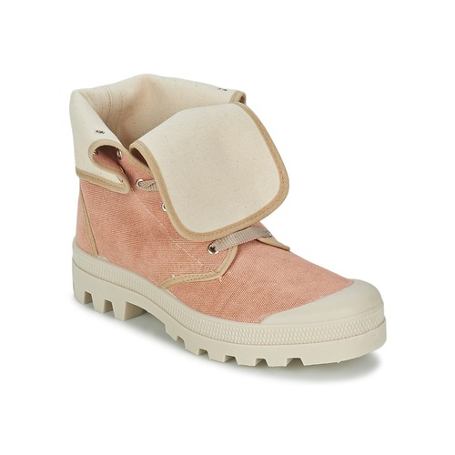 Shoes Women High top trainers Casual Attitude BOPESSA Pink
