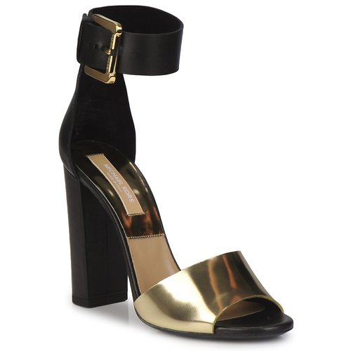Shoes Women Sandals Michael Kors MK18025 Black / Gold