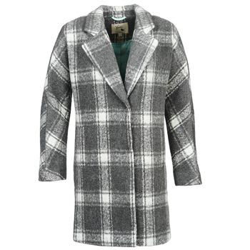 material Women coats Yumi EHIME White / Grey