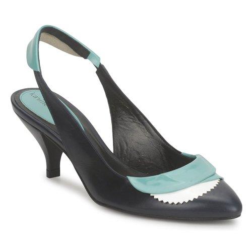 Shoes Women Sandals Karine Arabian LILA Ink / White / Turquoise