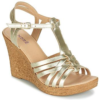 Shoes Women Sandals André FABULEUSE Gold