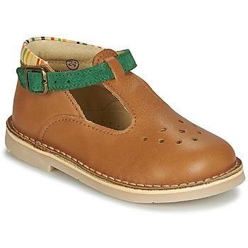 Shoes Boy Sandals André SUNSET Camel