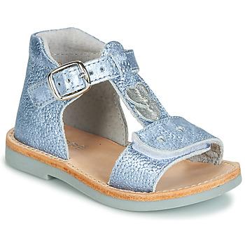 Shoes Boy Sandals André POESIE Blue