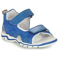 Shoes Boy Sandals André PLANCTON Blue