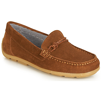 Shoes Girl Derby shoes André GASPARD Brown
