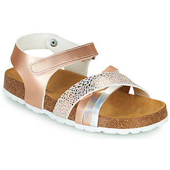 Shoes Girl Sandals André CARAIBE Pink