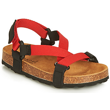 Shoes Girl Sandals André TOUCAN Red