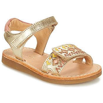 Shoes Girl Sandals André SEVILLE Gold