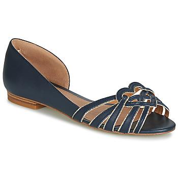 Shoes Women Ballerinas André CHRISTIE Marine