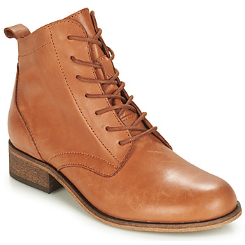 Shoes Women Ankle boots André GODILLOT Camel
