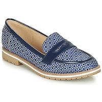 Shoes Women Loafers André PORTLAND Blue