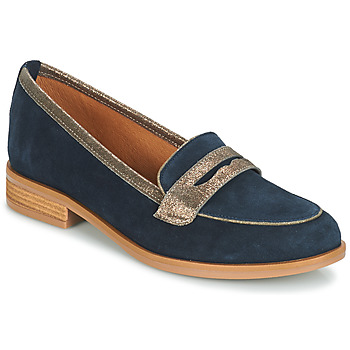 Shoes Women Loafers André ROAD Blue