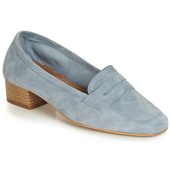 Shoes Women Loafers André SENLIS Blue