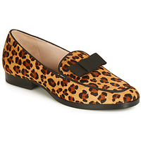 Shoes Women Loafers André LA CAPRICIEUSE Leopard