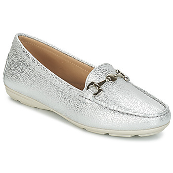 Shoes Women Loafers André CABRIOLE Silver