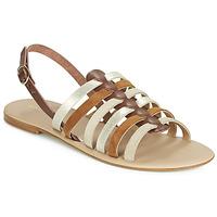 Shoes Women Sandals André SECRETE Beige