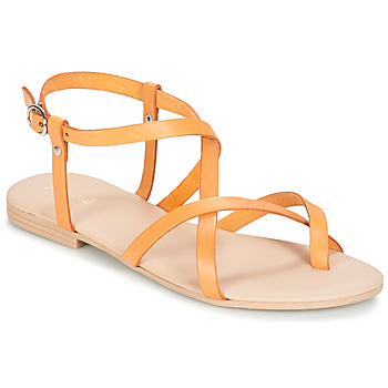 Shoes Women Sandals André RAFFOLE Yellow