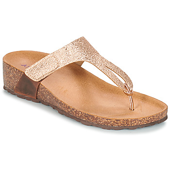 Shoes Women Flip flops André ROMY Pink