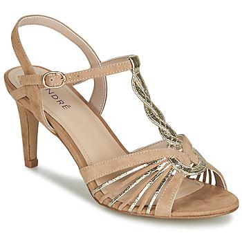 Shoes Women Sandals André CALECHE Beige