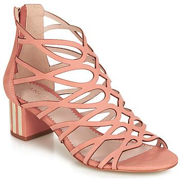 Shoes Women Sandals André Studio LA RAFFINEE Pink