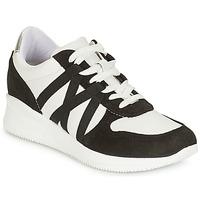 Shoes Women Low top trainers André ALLURE Black / White
