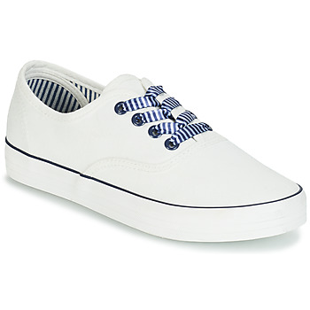 Shoes Women Low top trainers André STEAMER White