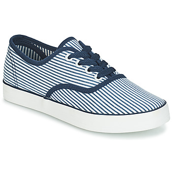 Shoes Women Low top trainers André STEAMER Blue / White