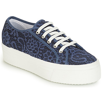 Shoes Women Low top trainers André SODA Blue