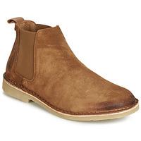 Shoes Men Mid boots André RONNY Cognac