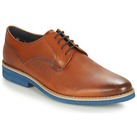 Shoes Men Derby shoes André CANOE Cognac / Blue