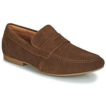 Shoes Men Loafers André TONI Brown
