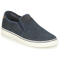 Shoes Men Slip ons André CLAPAUX Blue