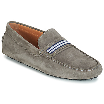 Shoes Men Loafers André PITCHOU Grey