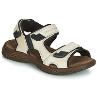 Shoes Men Sandals André MIAMI Beige