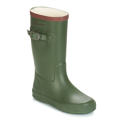 Shoes Children Wellington boots Aigle PERDRIX Kaki