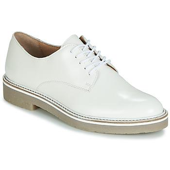 Shoes Women Derby shoes Kickers OXFORK White