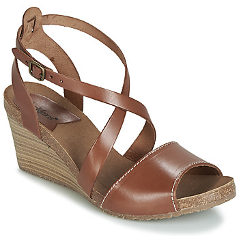 Shoes Women Sandals Kickers SPAGNOL Brown