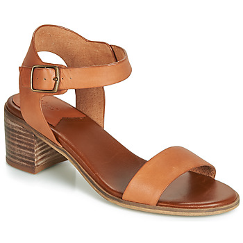 Shoes Women Sandals Kickers VOLOU Camel