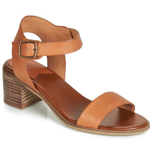 Shoes Women Sandals Kickers VOLOU Camel