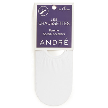 Clothes accessories Women Socks André FOOTIES White