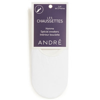 Clothes accessories Men Socks André TERRY White